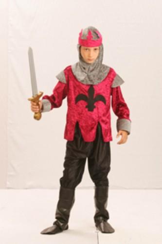 Childrens Boys Renaissance King Costume for Royal Fancy Dress