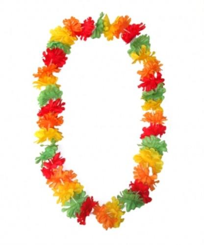 Hawaiian Lei for Tropical Beach Fancy Dress Accessory