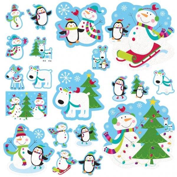 Joyful Snowman Christmas Party Decoration