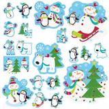 Joyful Snowman Christmas Party Decoration