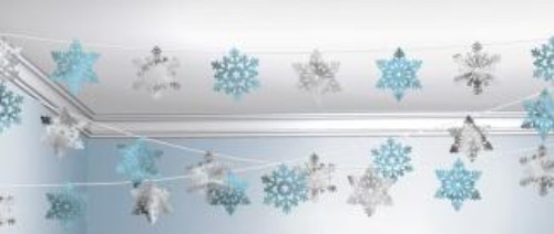 Snowflake String Decoration Christmas Party Decorations