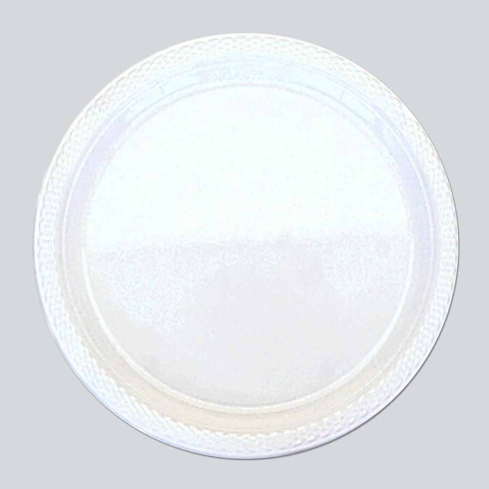 Frosty White for Plain Coloured Party Tableware