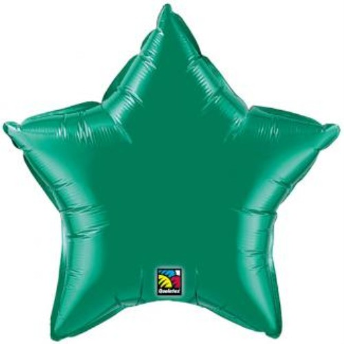 Emerald Green Foil Balloon Birthday Helium Party Decorations