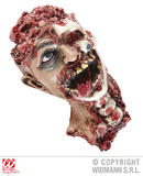 HEAD WITH NECK 33 cm Accessory for Body Part Halloween Prop Headless Fancy Dress