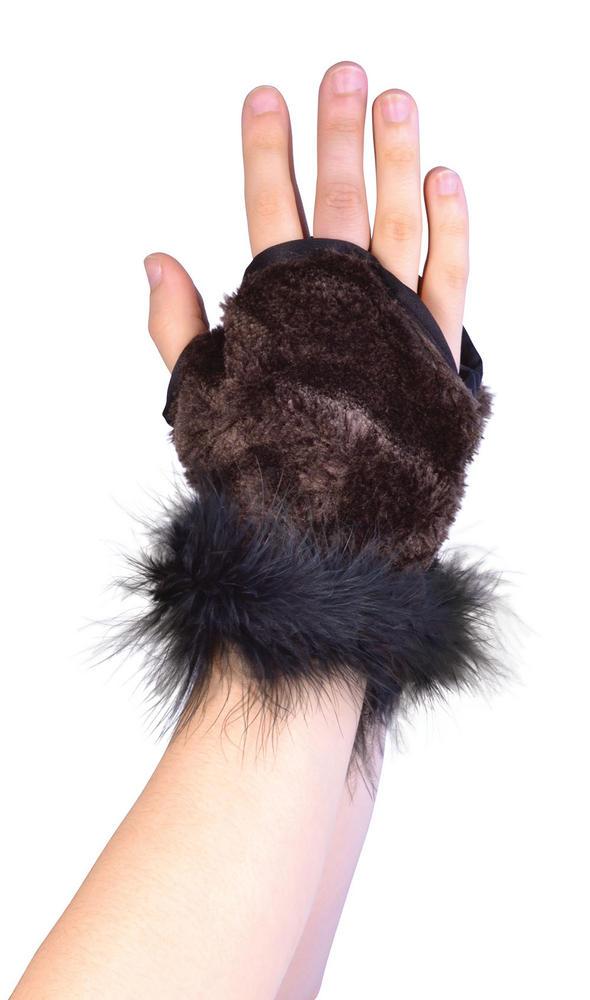 Animal Glovelets Creature Nature Zoo Farm Fancy Dress Accessory