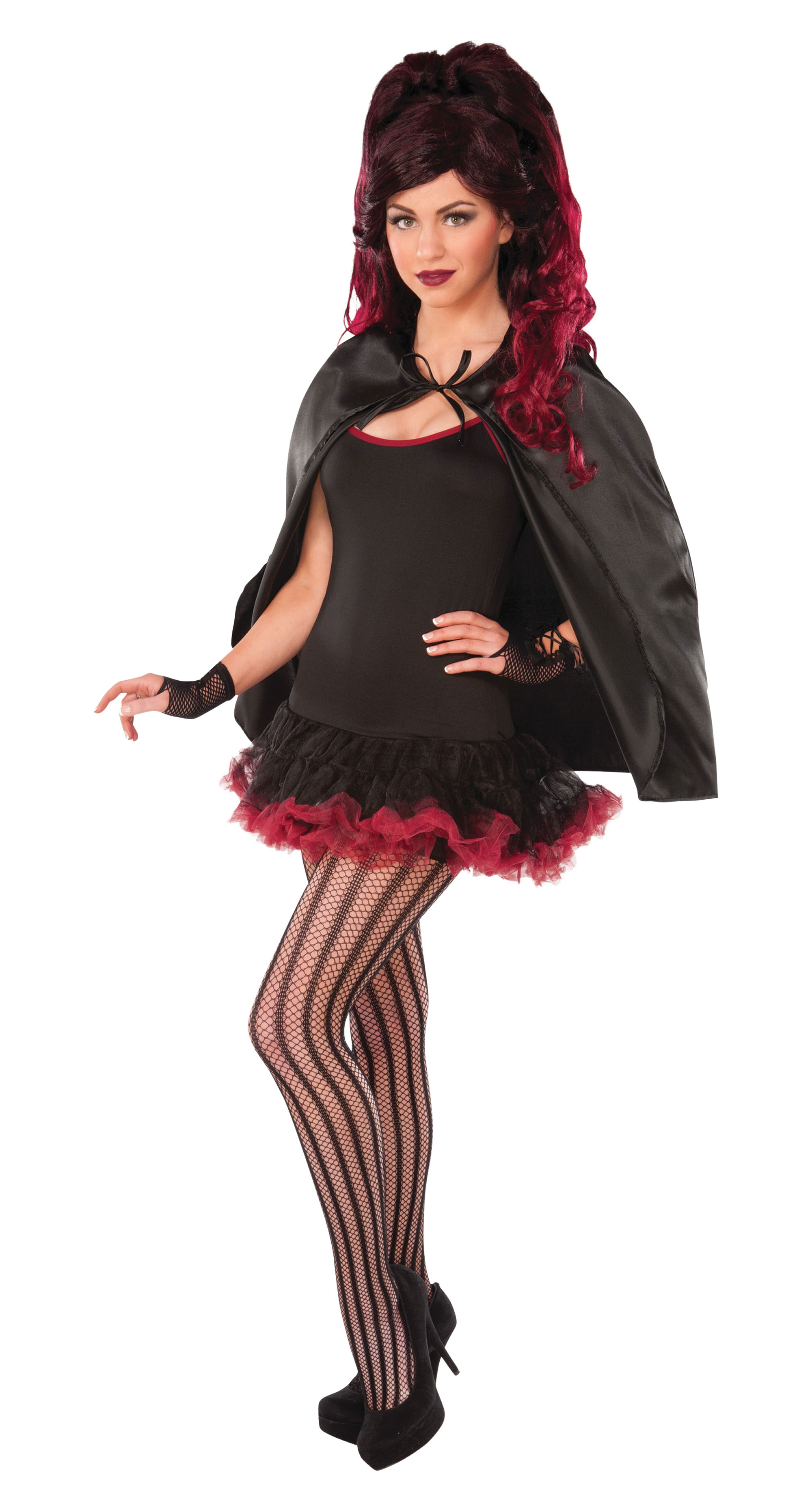 Fantasy Cape Costume Sexy Adult Role Play Fancy Dress Outfit Cosplay