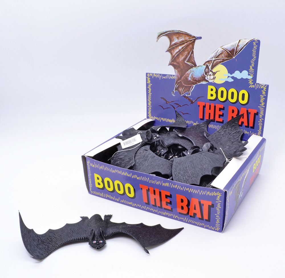 Bats Booo The Bat (Box 3dz) Prop Halloween Trick Or Treat Fancy Dress Party