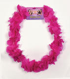 Hawaiian Leis Pink (New Supplier) for Hawaii Tropical Beach Magnum Fancy Dress