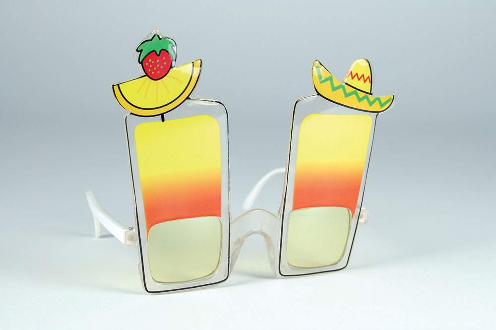 Cocktail Glasses Long Island Beach Party Drinks Tableware Tropical Summer Party