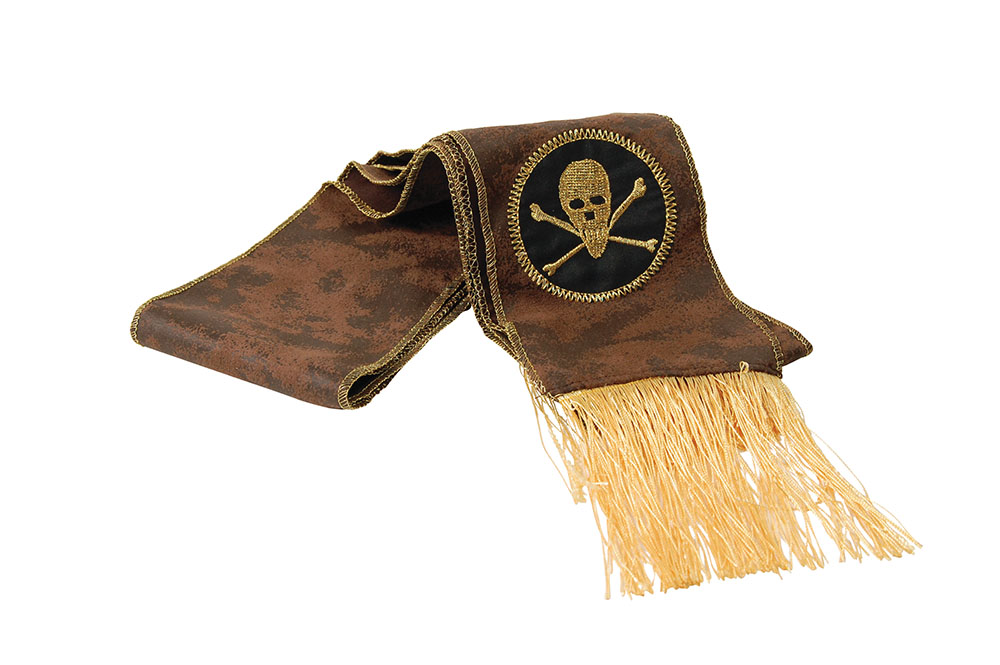 Pirate Buccaneer Sash for Buccaneer Sailor Jack Blackbeard Fancy Dress Accessory