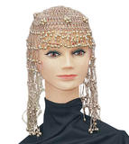 Cleopatra Beaded Headpiece Ancient Egyptian Queen Fancy Dress