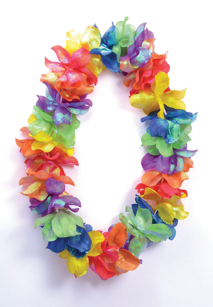Hawaiian Flower Leis Pearlised Colours (Small Flower) Hawaii Tropical Magnum