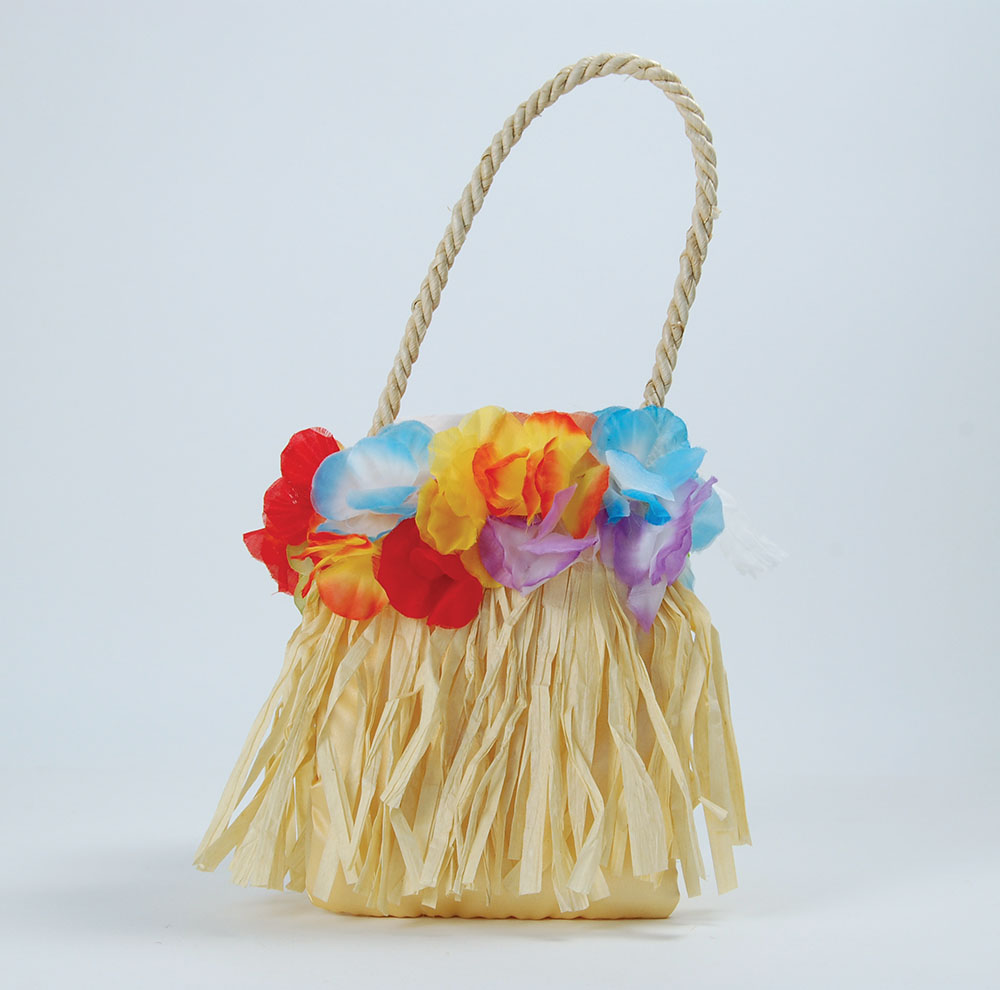 Hawaiian Handbag Hawaii Tropical Beach Magnum Five O Fancy Dress Party
