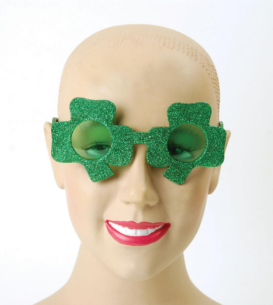 Irish Glasses (Shamrock) St Patricks Days Ireland Fancy Dress Accessory