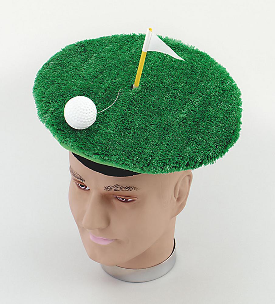 Golf Hat Novelty Item Sport Masters Tiger Open Fancy Dress Accessory