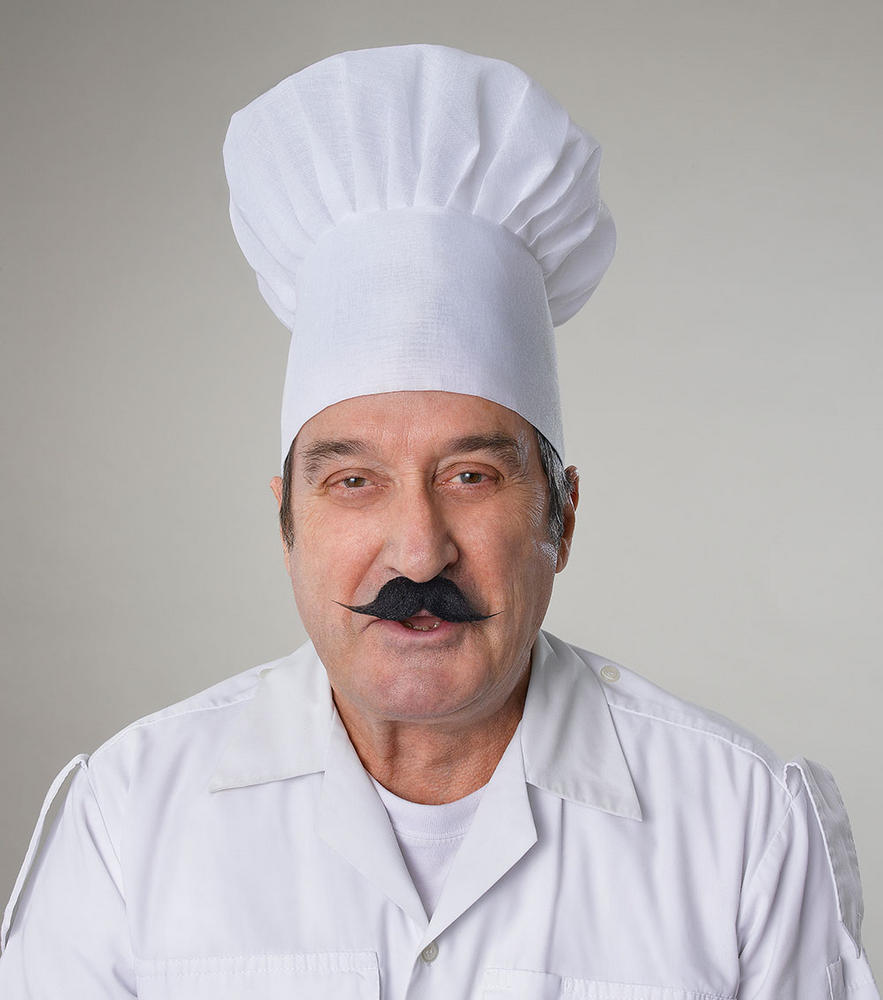 Chef Hat Cook Masterchef Fancy Dress Accessory