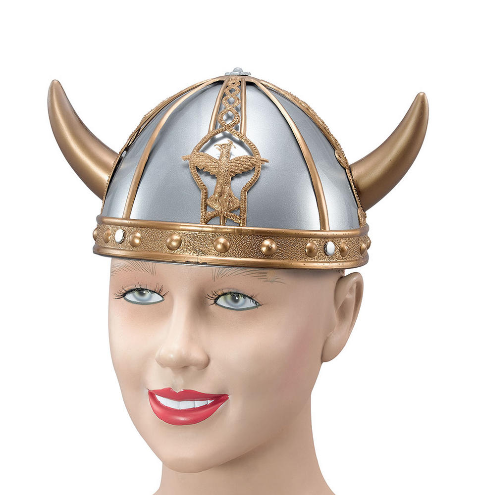 Viking Helmet Small Ancient Scandinavian Swedish Danish Fancy Dress Accessory
