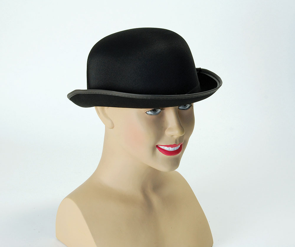 Bowler Hat Laurel hardy Victorian Fancy Dress Accessory