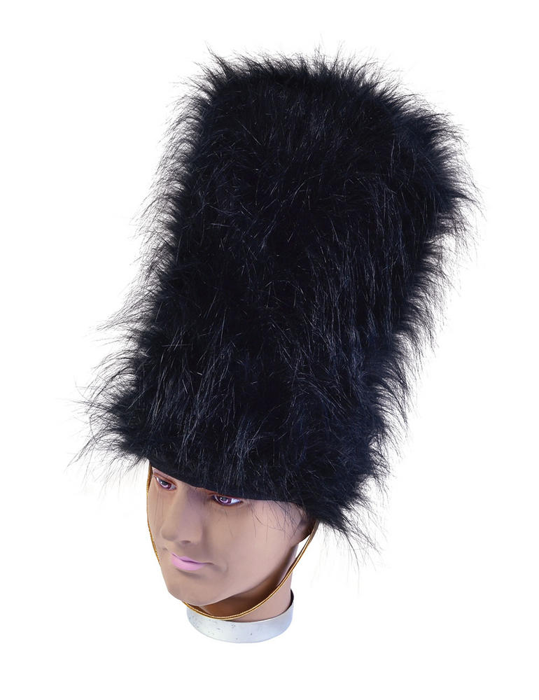 Bearskin Hat Royal Soldier Fancy Dress Accessory