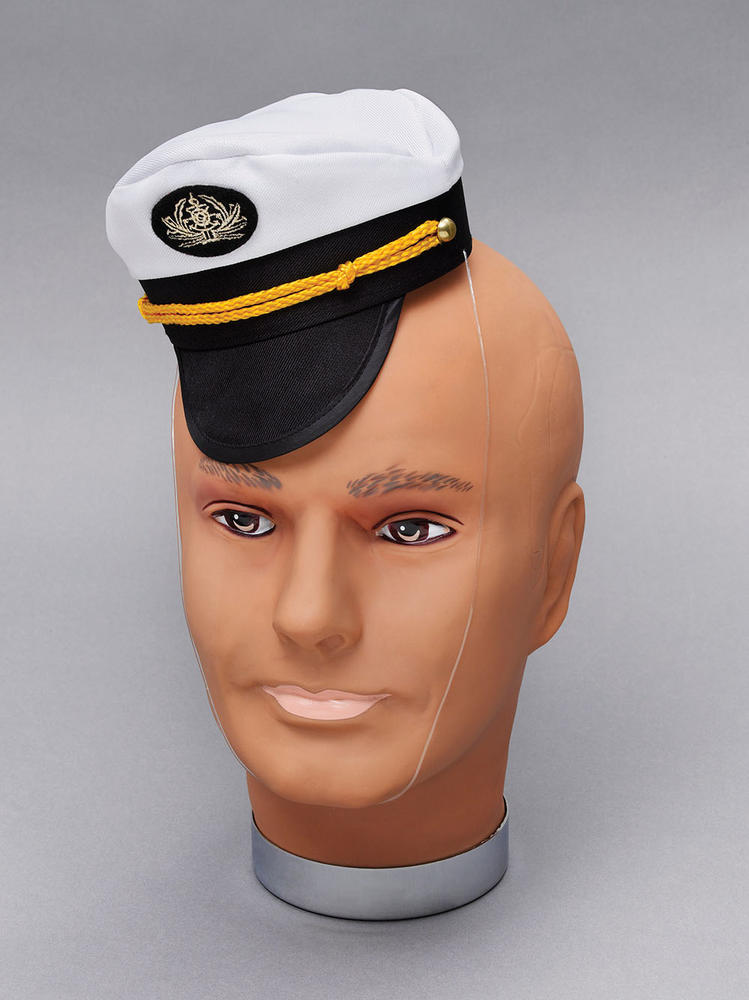 Captain Cap Mini Commander General Commadore Fancy Dress Accessory