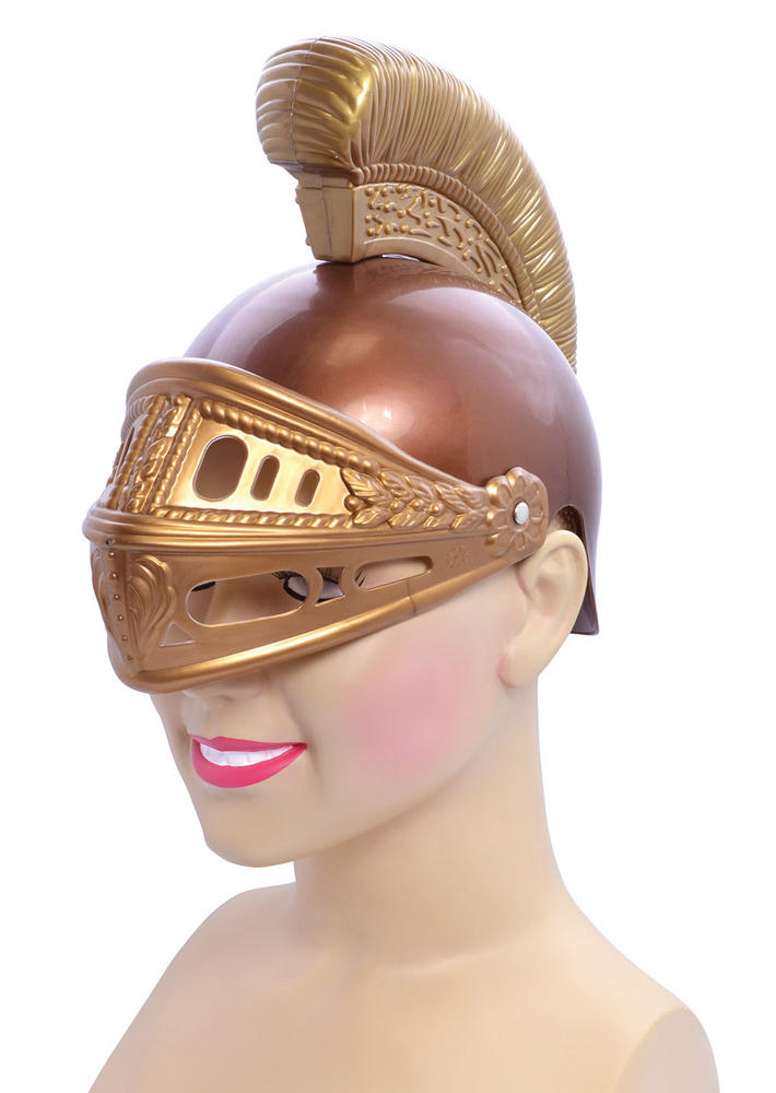 Roman Helmet Childs Ancient Rome Greek Latin Fancy Dress Accessory