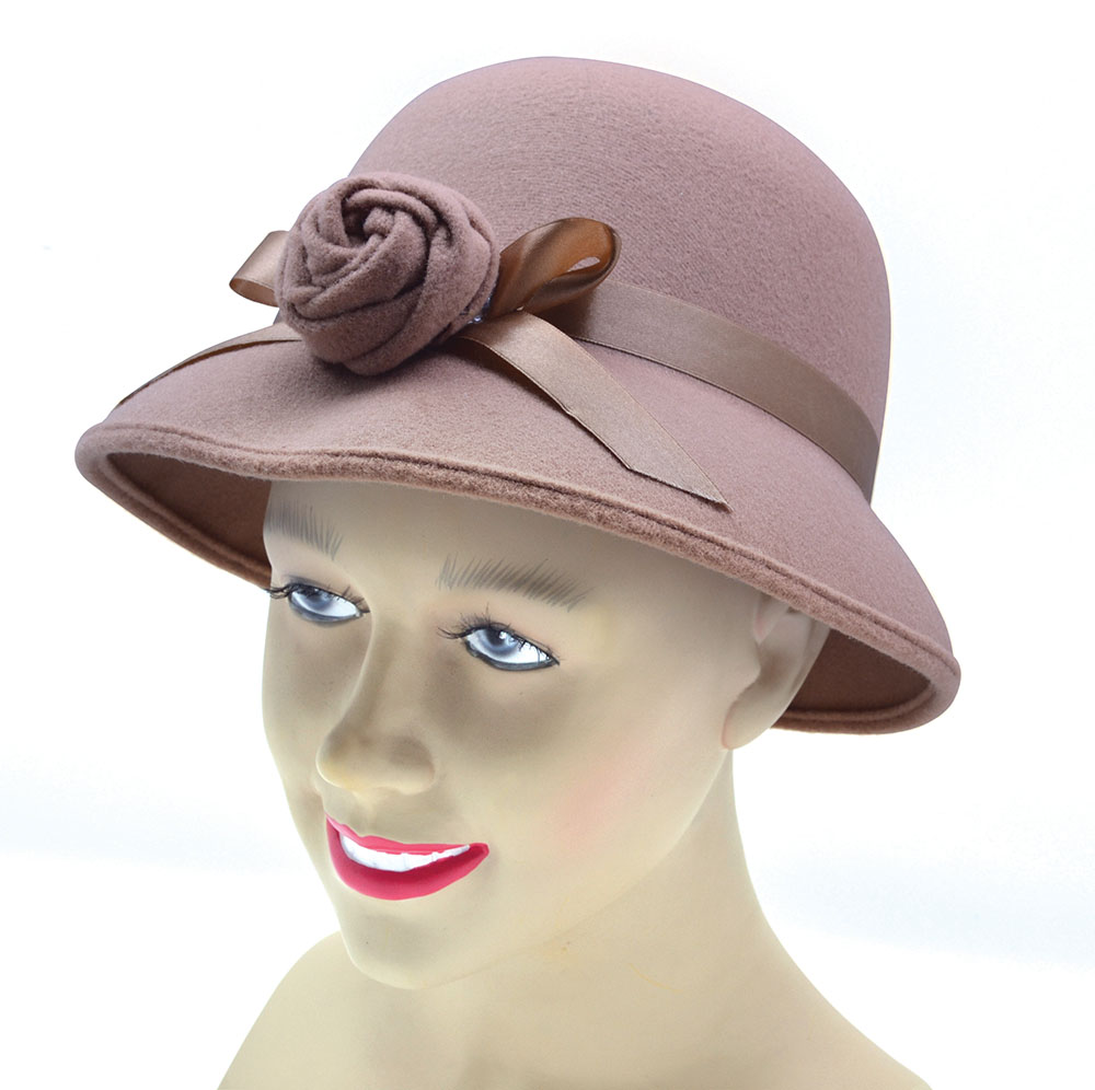 Ladys Hat 1920s Style 20s Gangsters & Molls Fancy Dress Accessory