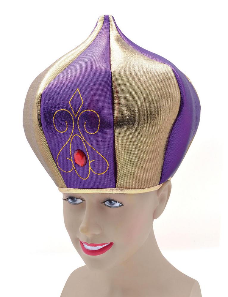 Sultan Hat Arab Sheik King Ruler Leader Fancy Dress Accessory