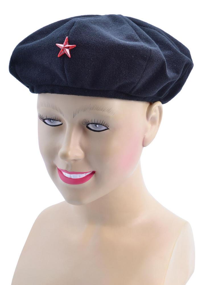 Soviet Revolutionist Hat Russian Cuban Militia Fancy Dress Accessory