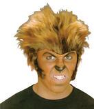 Mens Wolfman Wig Werewolf Halloween Fancy Dress