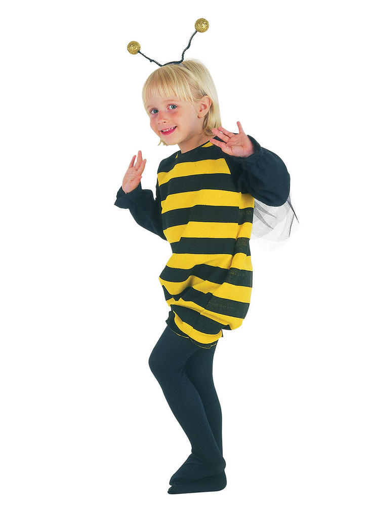 Childs Bumble Bee Costume Wasp Insect Bee Fancy Dress Outfit