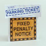 Joke Parking Ticket Novelty Gag Trick Party Favor Favour