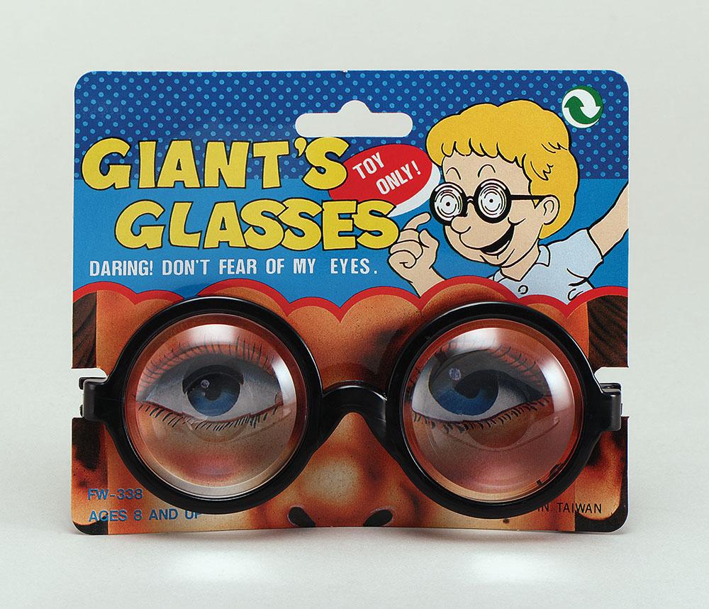 Giants Glasses Glasses Accessory for 70s 80s Mallet Fancy Dress Glasses