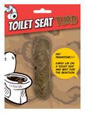Joke Toilet Seat Turd Novelty Gag Trick Party Favor Favour