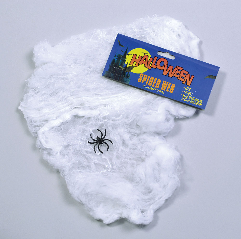 Halloween Spider Web Wool/Plastic Spider Trick Or Treat Party Decoration