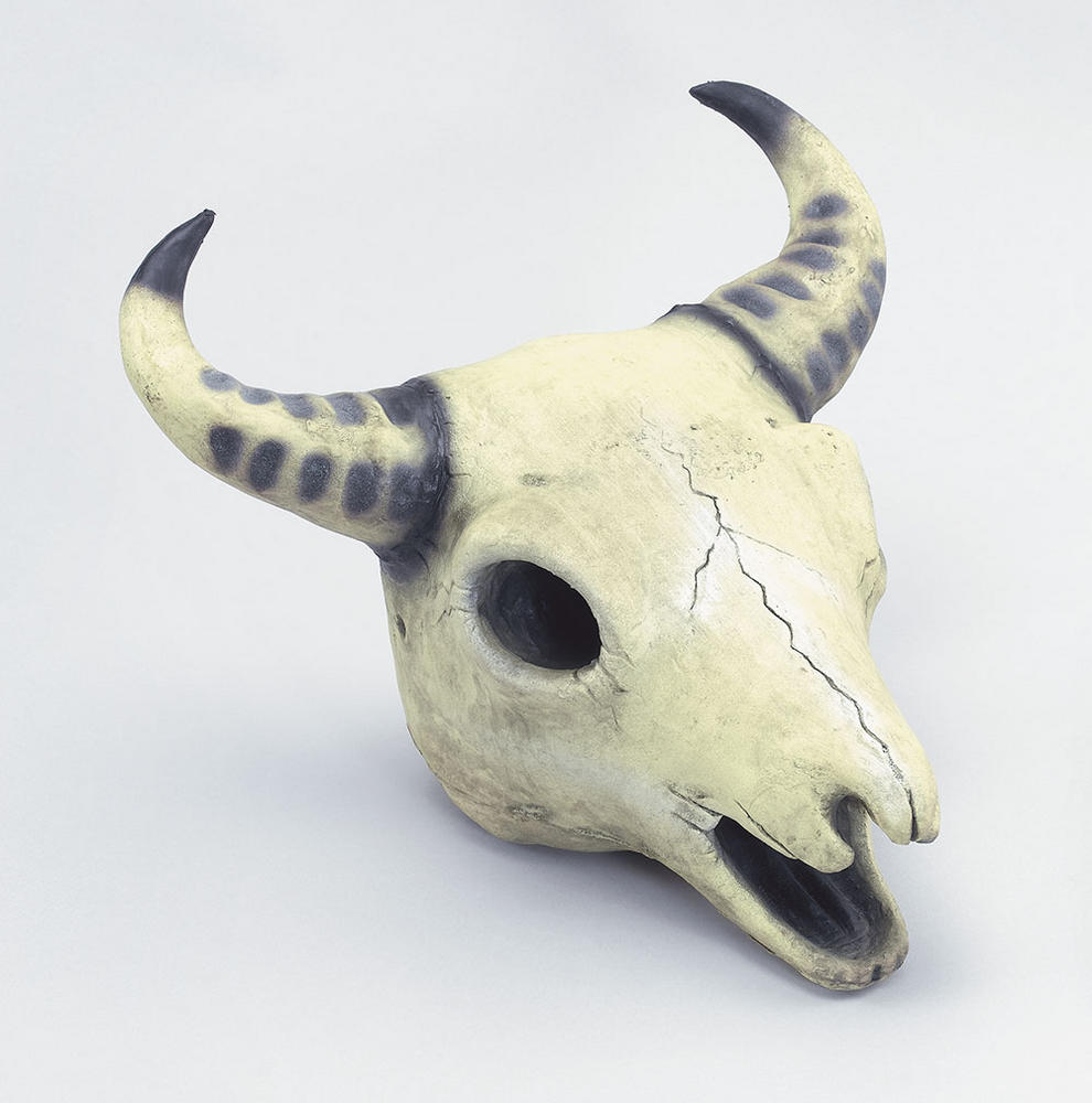 Halloween Cow Skull Prop Trick Or Treat Fancy Dress Party