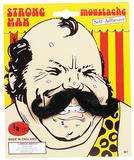 Strong Man Tash Moustache Fake Victorian Circus Tache Fancy Dress Accessory