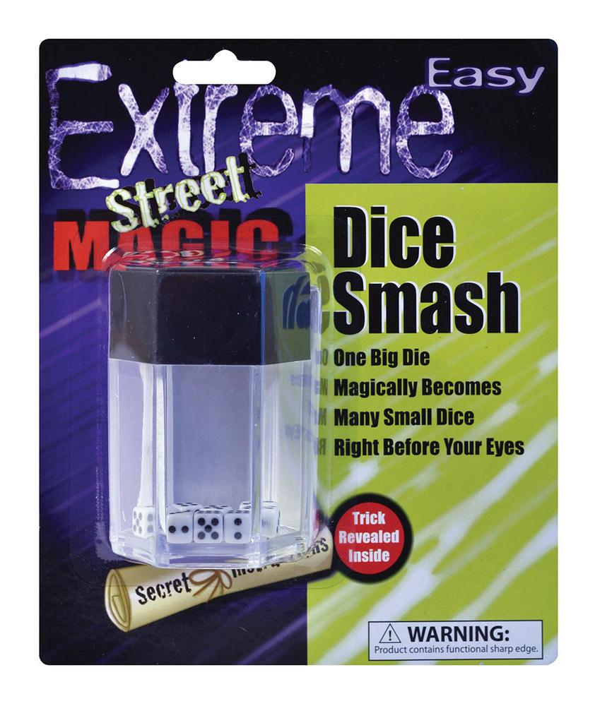 Magic Dice Smash (Explosion) Magician Magical Party Favor Favour