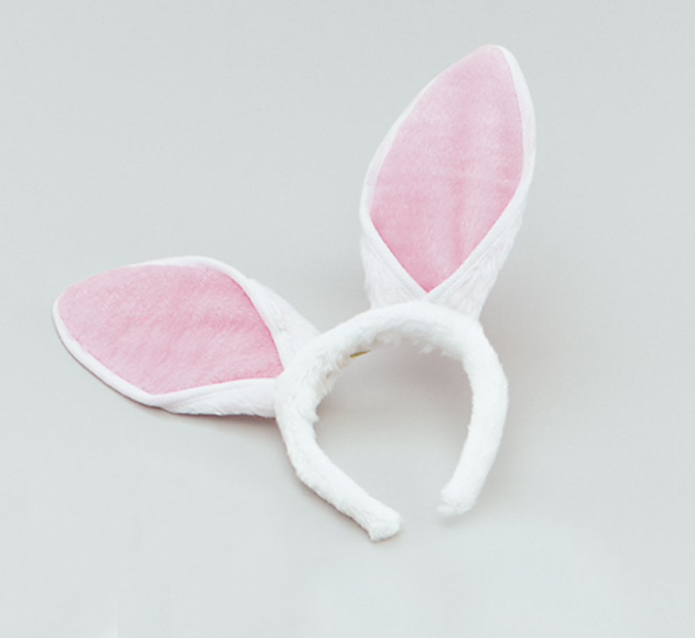SFX Cosmetic Disguise Bunny Ears On Headband Adult Rabbit Animals Easter