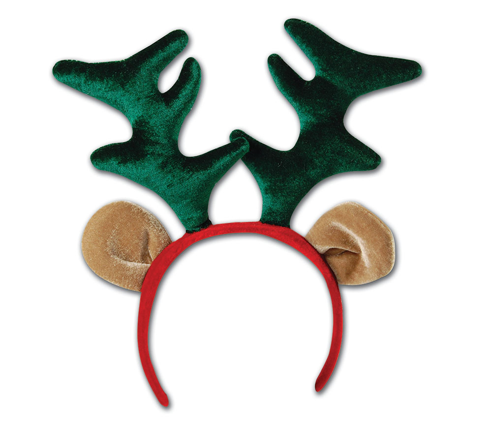 SFX Cosmetic Disguise Christmas Reindeer Boppers Festive Xmas Nativity Cosmetic