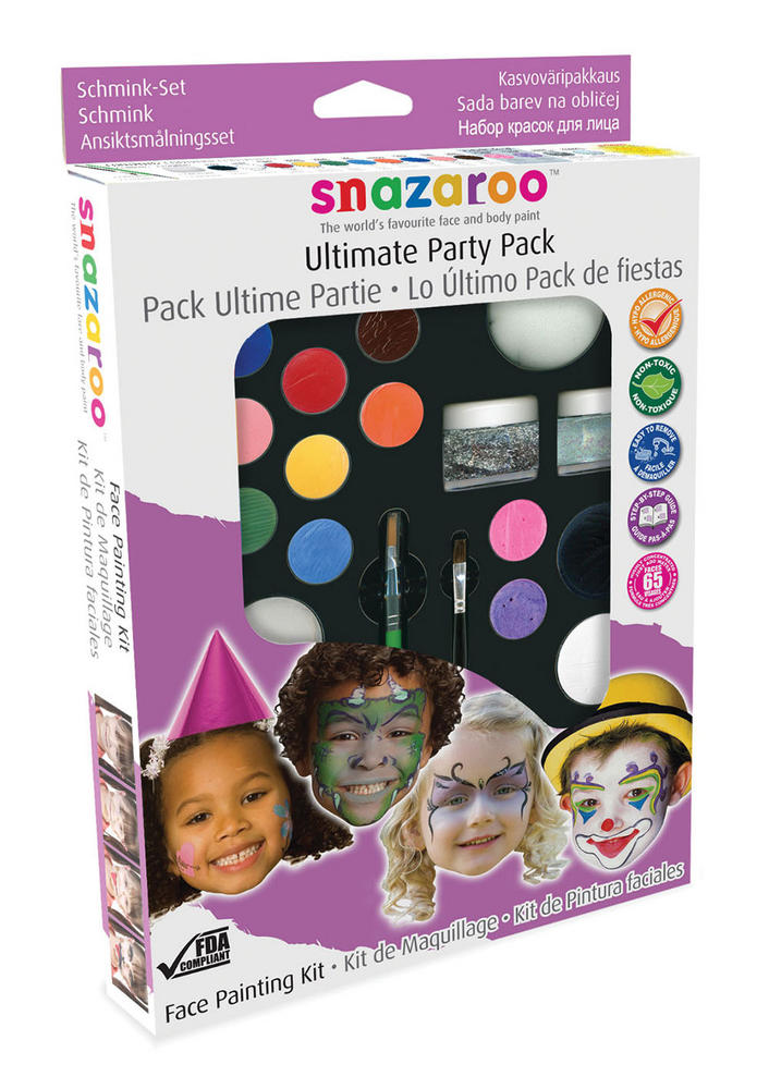 Snazaroo Party Makeup Kit Makeup Cosmetic Artist