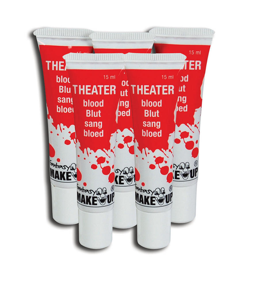 Makeup Blood Theatrical In A Tube SFX Cosmetic Artist