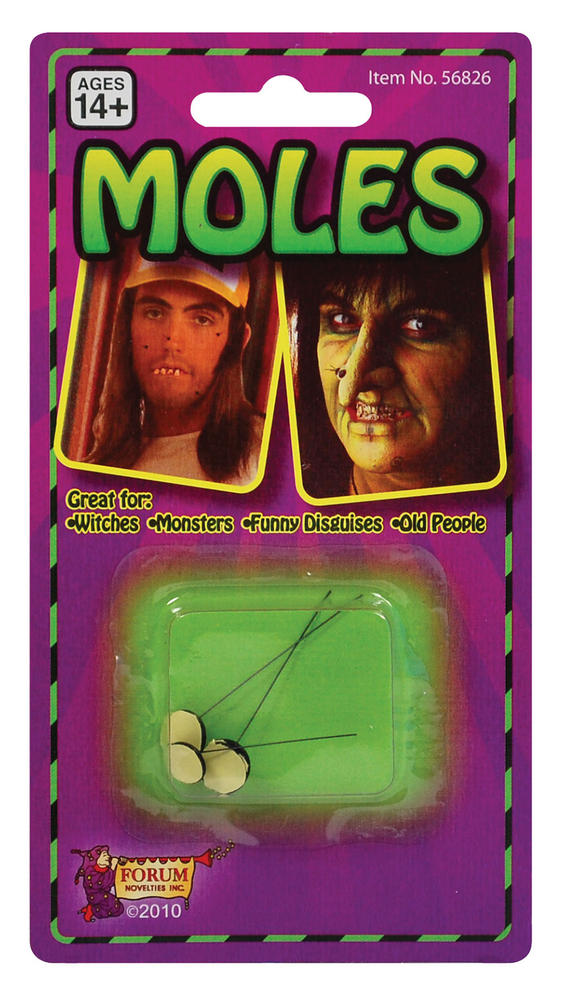 Moles Warts Ugly Witch Boils Halloween Cosmetic Artist