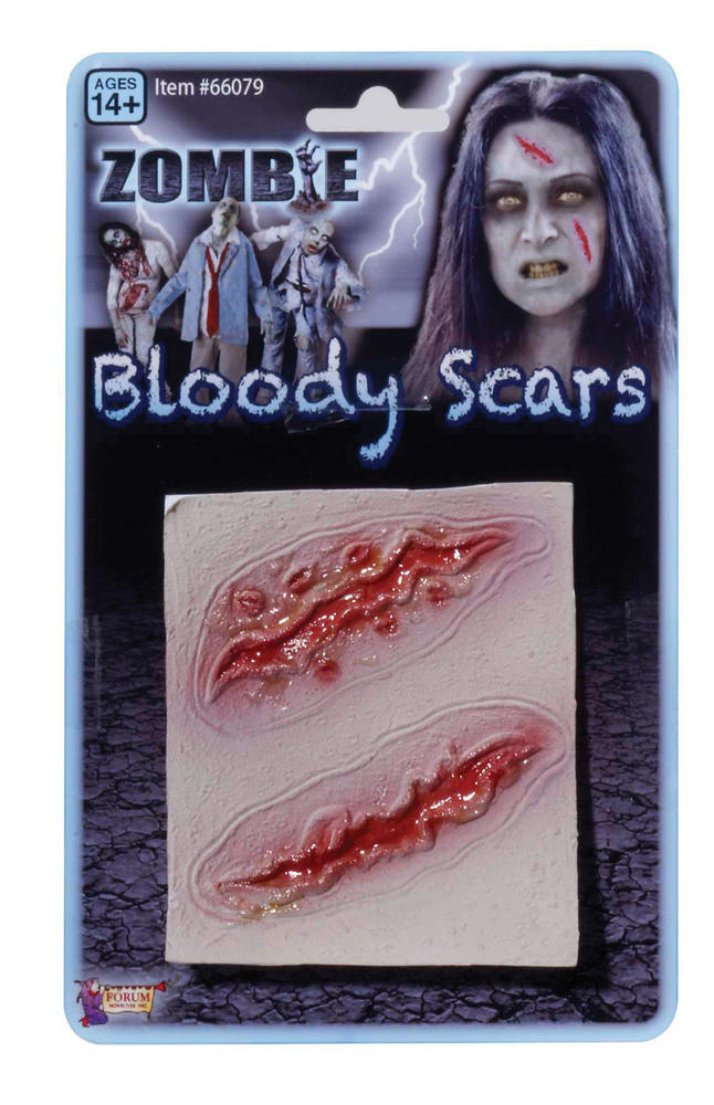 Zombie 2 Wound Scars TWD Halloween Living Walking Dead Cosmetic Artist