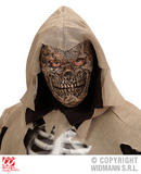 Boys DEATH WARLORD HALF FACE FOAM MASK Accessory for Walking Dead halloween Zomb