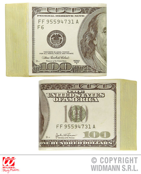 FAKE DOLLARS MONEY Novelty for Novelty Gag Trick Toy
