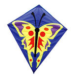 Graphic Diamond Butterfly Kites for Kids Outdoor Camping Beach Sports Games