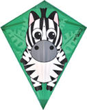 Jungle Tot Zebra Kite for Kids Animals Outdoor Camping Beach Sports Games & Gift