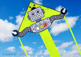 Super Flyer Robot Kite for Boys Space Fun Kids Outdoor Camping Beach Sports Game