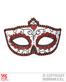 DIA DE LOS MUERTOS EYEMASK Accessory for Eyes Wide Shut Fancy Dress