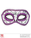 DIA DE LOS MUERTOS EYEMASK DECORATED Accessory for Eyes Wide Shut Fancy Dress